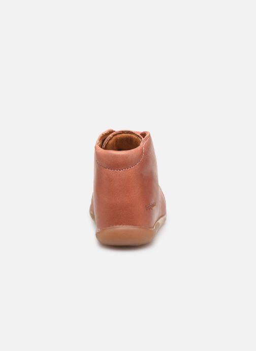 Bottines et boots Babybotte Fredy Rose vue droite