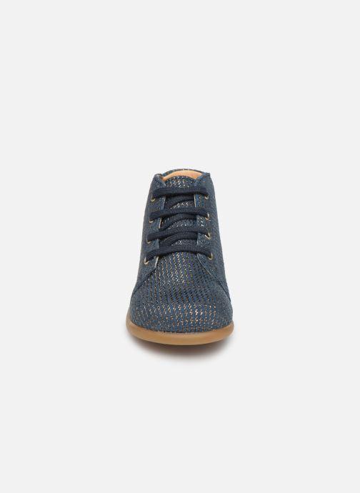 Bottines et boots Babybotte Fredy Bleu vue portées chaussures