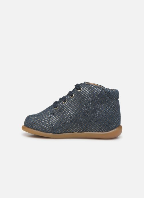 Ankle boots Babybotte Fredy Blue front view