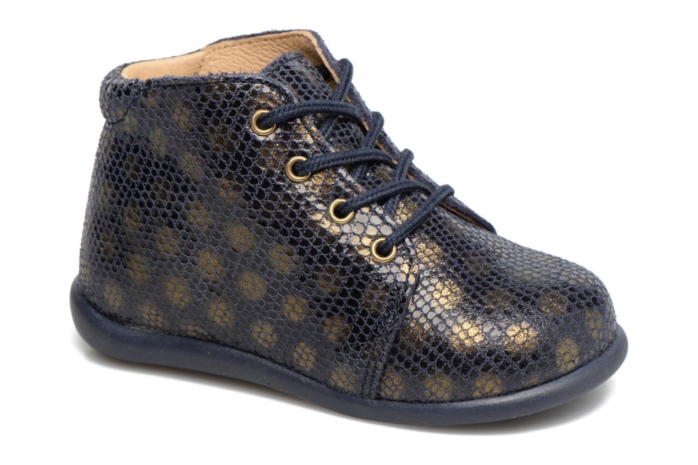 Ankelstøvler Babybotte Fredy Blå detaljeret billede af skoene