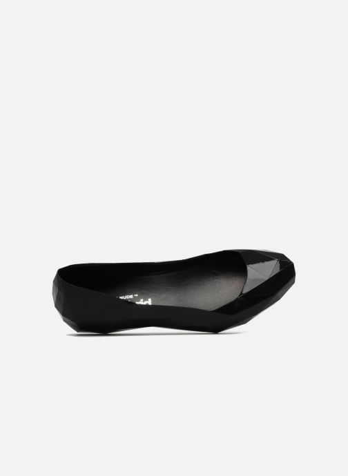 Ballet pumps United Nude Lo Res Low Black view from the left