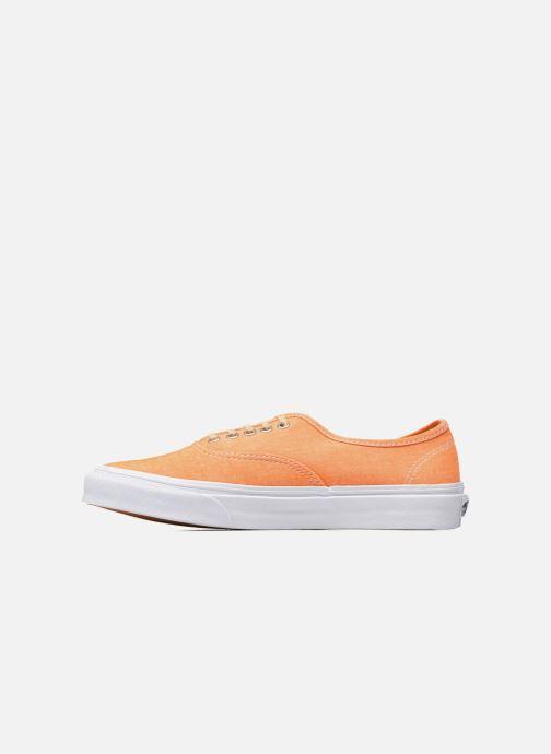 Deportivas Vans Authentic Slim W Naranja vista de frente