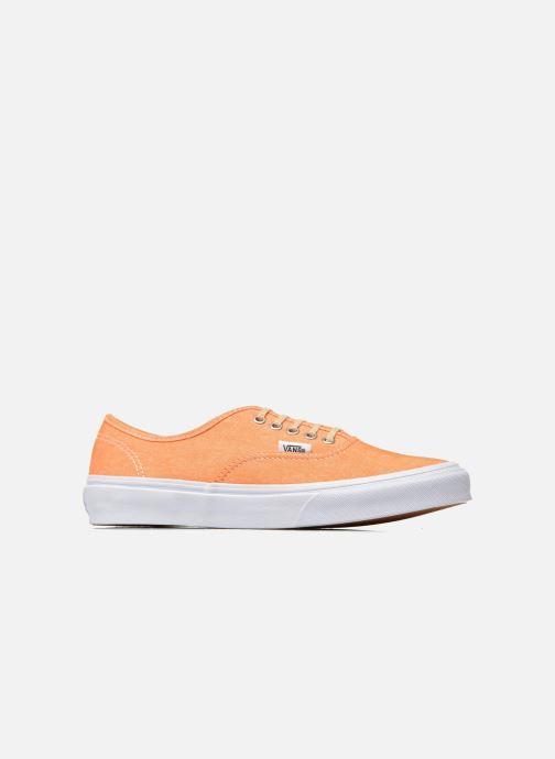 Sneakers Vans Authentic Slim W Arancione immagine posteriore