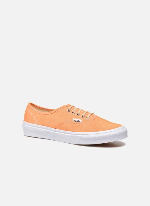 Deportivas Vans Authentic Slim W Naranja vista de detalle / par
