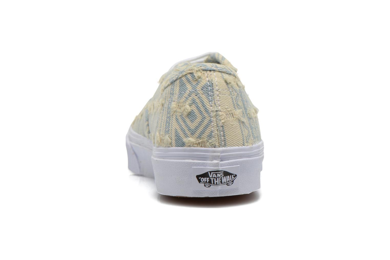 Baskets Vans Authentic Slim W Multicolore vue droite