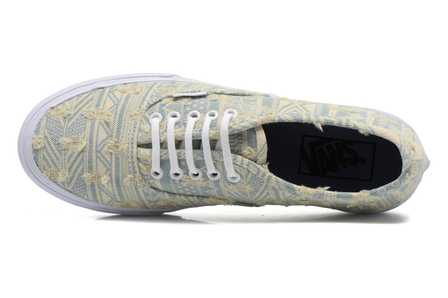 Trainers Vans Authentic Slim W Multicolor view from the left