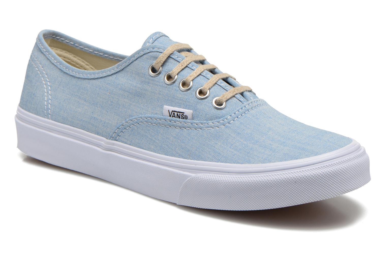 f246a0b5488ccd Vans Authentic Slim W (Bleu) - Baskets chez Sarenza (249062)