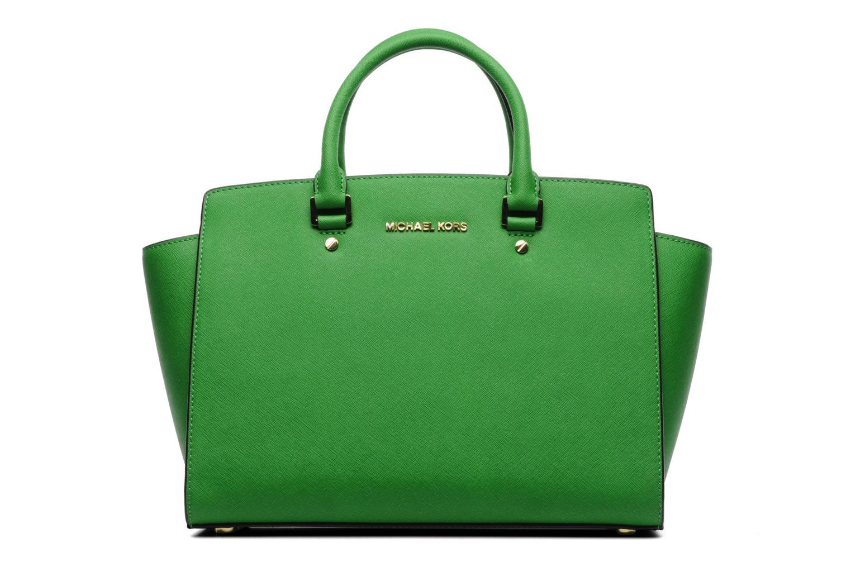 11523ae420 ... greece handbags michael michael kors selma lg tz satchel green detailed  view pair view 94dda f9460 ...