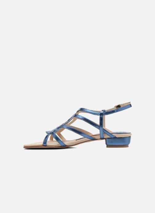 Sandales et nu-pieds Anna Volodia Aplat Bleu vue face