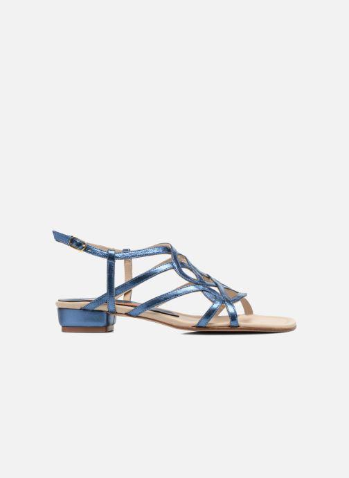 Sandales et nu-pieds Anna Volodia Aplat Bleu vue derrière