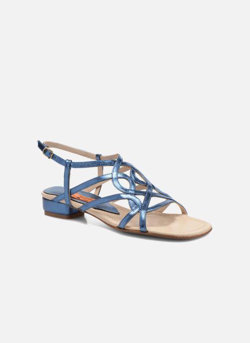 Sandales et nu-pieds Anna Volodia Aplat Bleu vue détail/paire