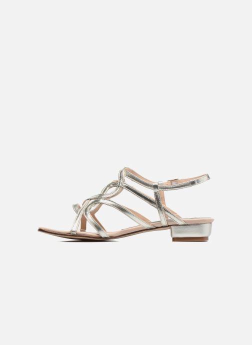 Sandales et nu-pieds Anna Volodia Aplat Or et bronze vue face