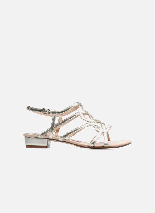 Sandales et nu-pieds Anna Volodia Aplat Or et bronze vue derrière