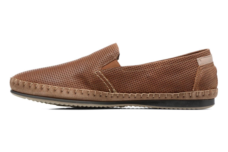 Loafers Fluchos Bahamas 8674 Brun bild från framsidan