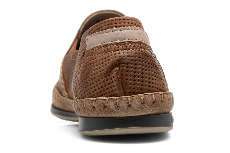 Loafers Fluchos Bahamas 8674 Brun Bild från höger sidan