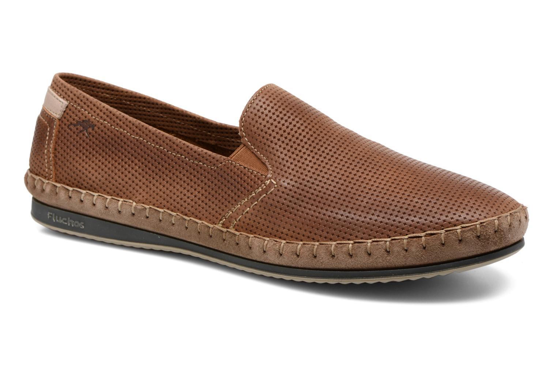 Loafers Fluchos Bahamas 8674 Brun detaljerad bild på paret