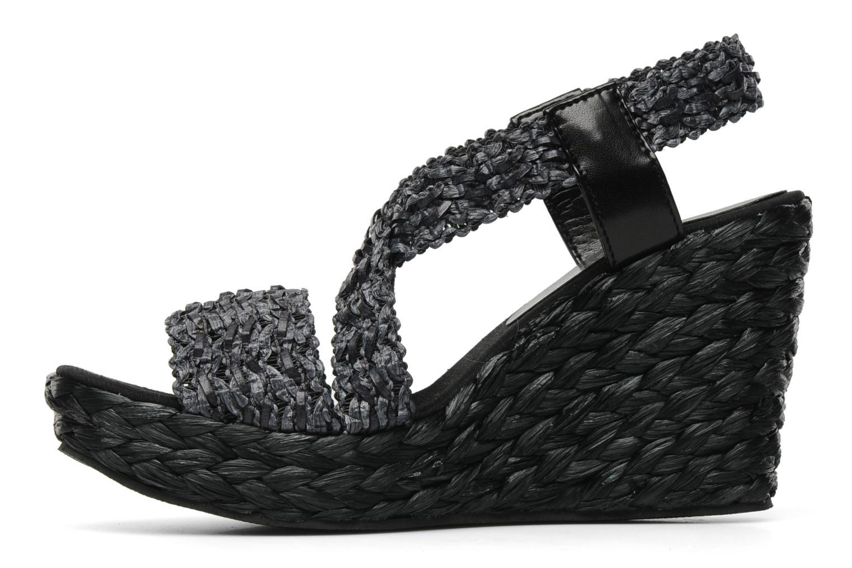 Sandals Elizabeth Stuart Fuxy 310 Black front view