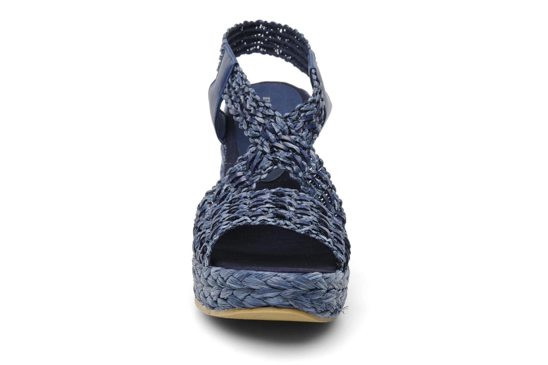Sandales et nu-pieds Elizabeth Stuart Fuxy 310 Bleu vue portées chaussures