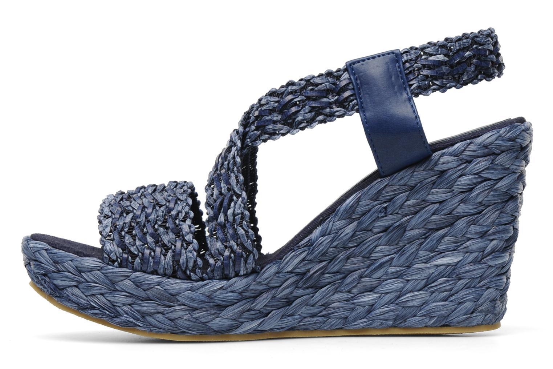 Sandales et nu-pieds Elizabeth Stuart Fuxy 310 Bleu vue face