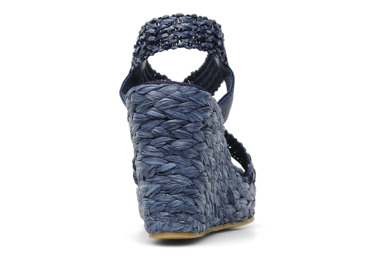 Sandales et nu-pieds Elizabeth Stuart Fuxy 310 Bleu vue droite