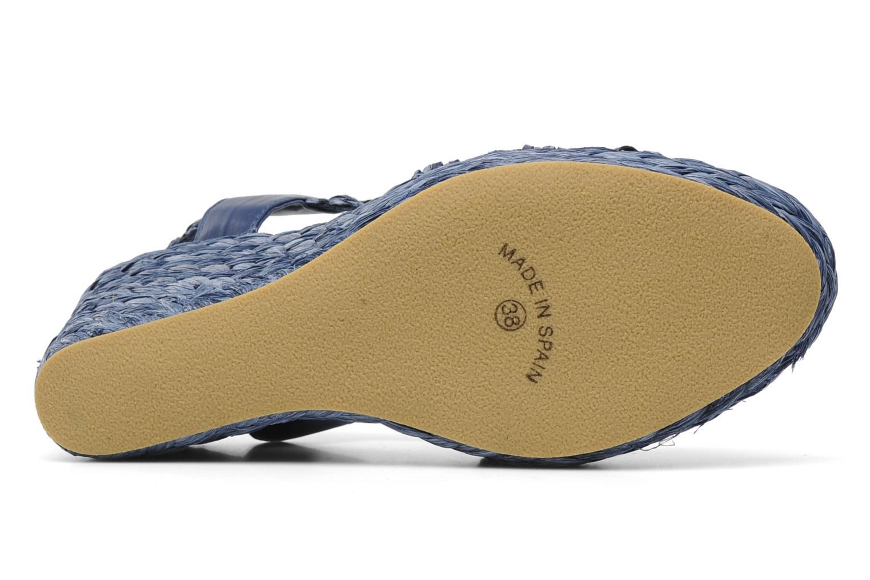 Sandales et nu-pieds Elizabeth Stuart Fuxy 310 Bleu vue haut