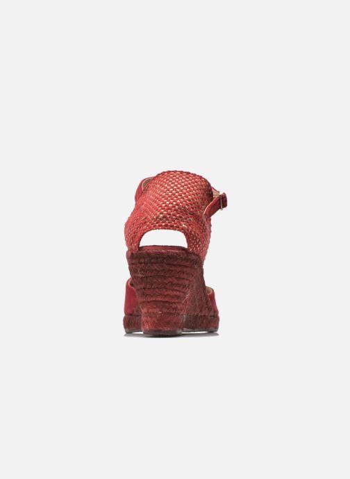 Sandales et nu-pieds Elizabeth Stuart Volga 630 Bordeaux vue droite