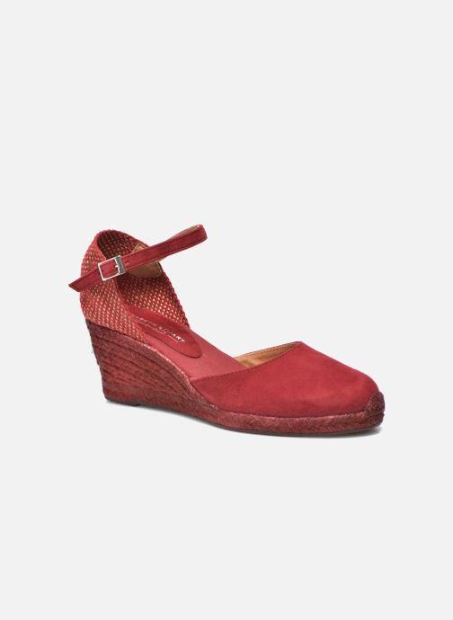 Sandales et nu-pieds Elizabeth Stuart Volga 630 Bordeaux vue détail/paire