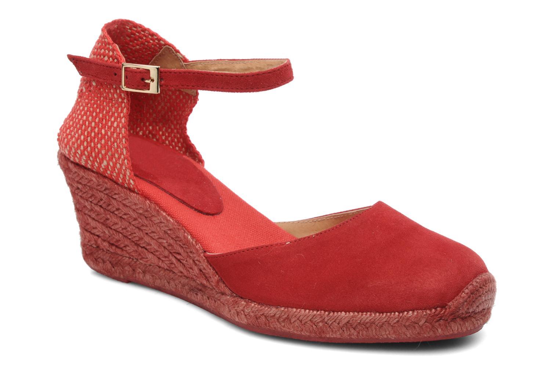 Sandals Elizabeth Stuart Volga 630 Red detailed view/ Pair view
