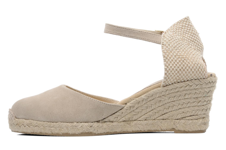 Sandales et nu-pieds Elizabeth Stuart Volga 630 Beige vue face