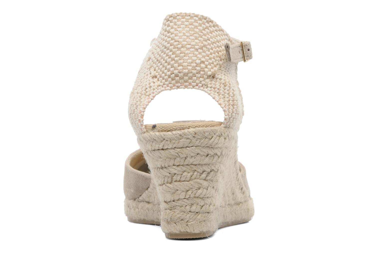 Sandales et nu-pieds Elizabeth Stuart Volga 630 Beige vue droite