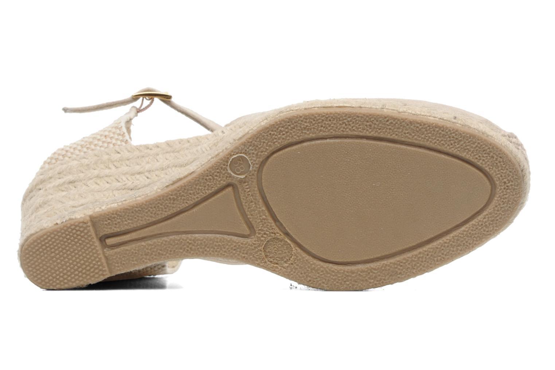 Sandales et nu-pieds Elizabeth Stuart Volga 630 Beige vue haut