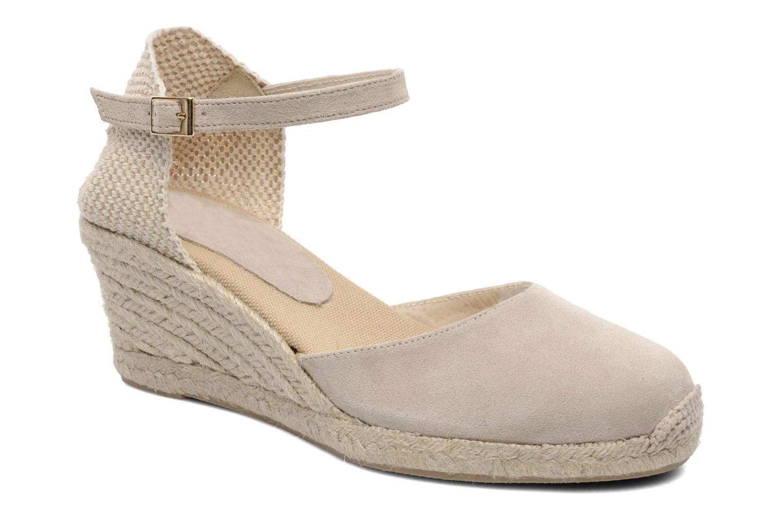 Sandales et nu-pieds Elizabeth Stuart Volga 630 Beige vue détail/paire