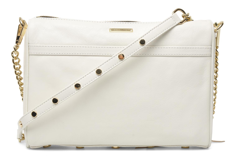 Handväskor Rebecca Minkoff MAC Clutch Vit bild från framsidan