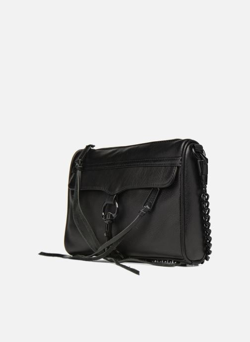 Bolsos de mano Rebecca Minkoff Mini MAC Negro vista del modelo