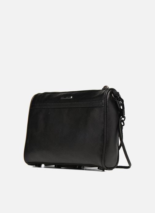 Handtassen Rebecca Minkoff Mini MAC Zwart rechts