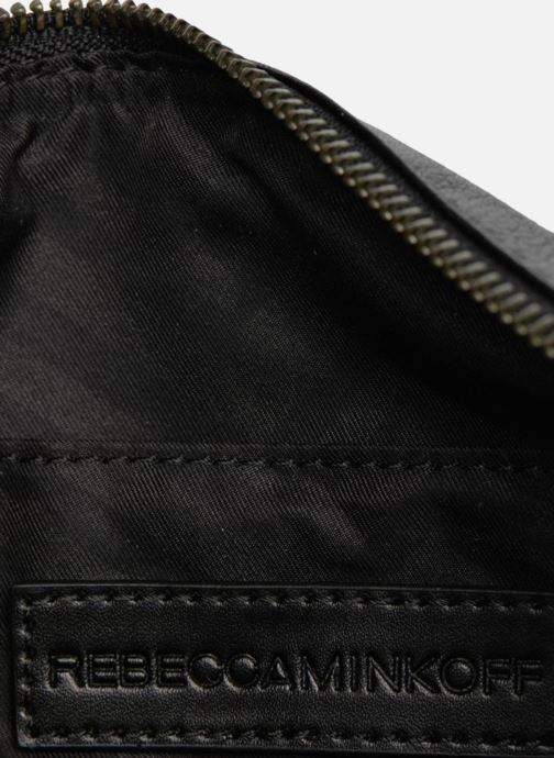 Bolsos de mano Rebecca Minkoff Mini MAC Negro vista lateral izquierda