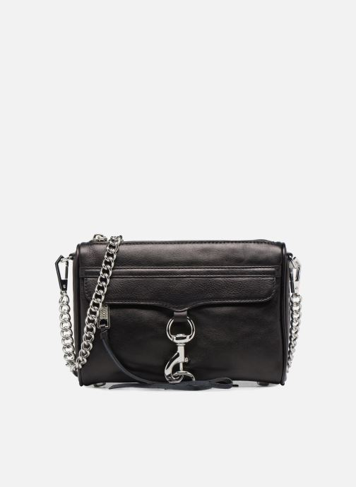 Handtassen Rebecca Minkoff Mini MAC Zwart detail