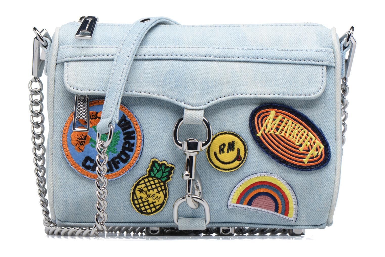 Sacs à main Rebecca Minkoff Mini MAC Bleu vue détail/paire