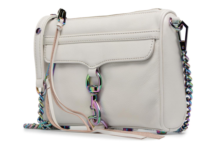 Handtaschen Rebecca Minkoff Mini MAC weiß schuhe getragen