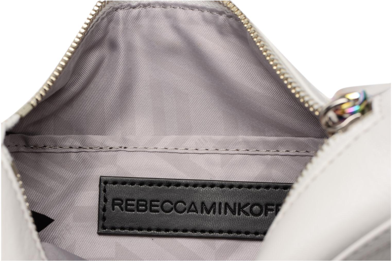 Handtaschen Rebecca Minkoff Mini MAC weiß ansicht von hinten