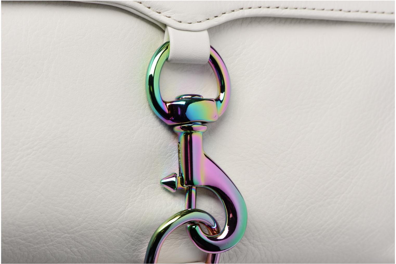 Handbags Rebecca Minkoff Mini MAC White view from the left