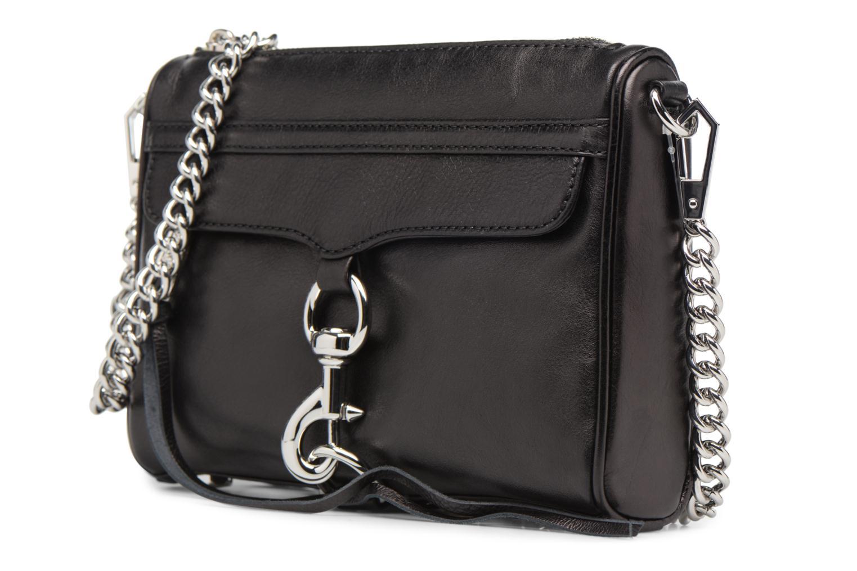 Handbags Rebecca Minkoff Mini MAC Black model view