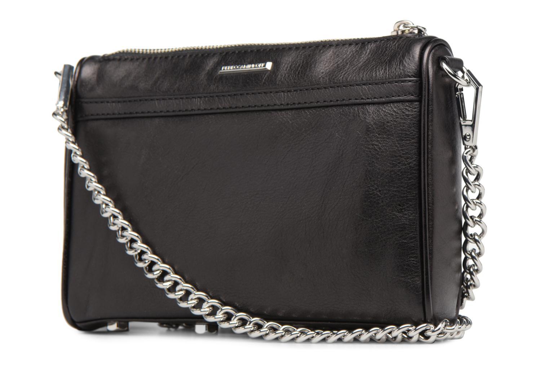Handbags Rebecca Minkoff Mini MAC Black view from the right