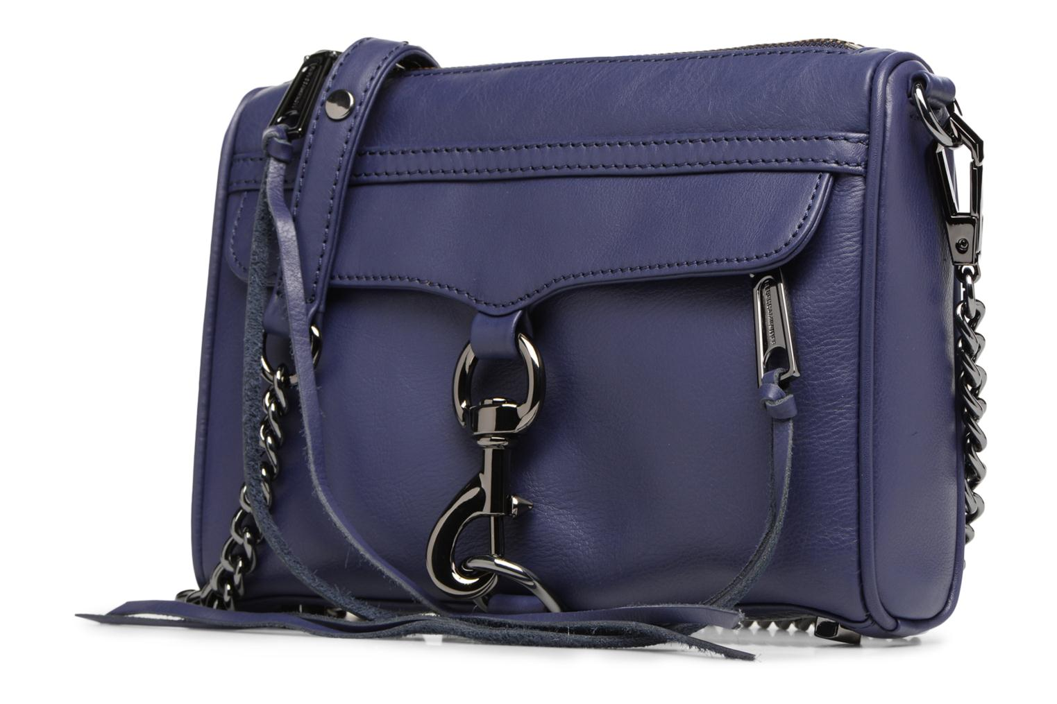 Handtassen Rebecca Minkoff Mini MAC Blauw model