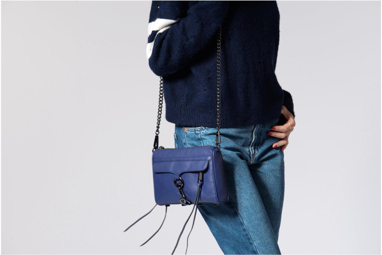 Handtaschen Rebecca Minkoff Mini MAC blau ansicht von oben