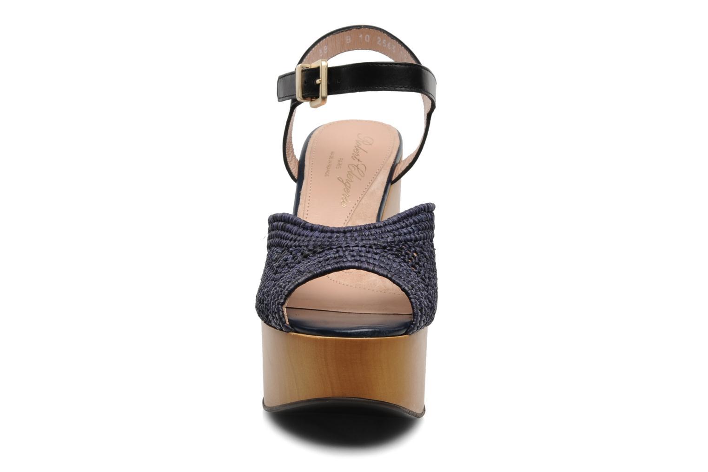 Sandalias Clergerie Dress Azul vista del modelo