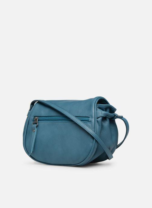 Handväskor Sabrina Alice Blå Bild från höger sidan