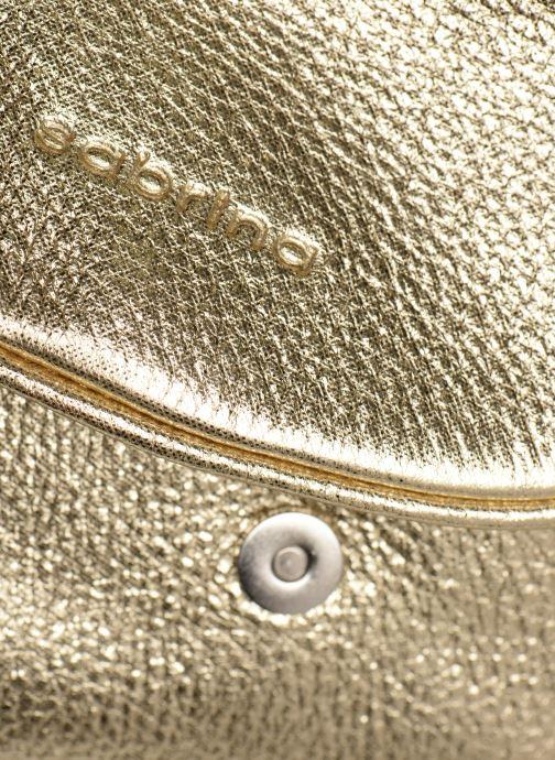 Bolsos de mano Sabrina Alice Oro y bronce vista lateral izquierda