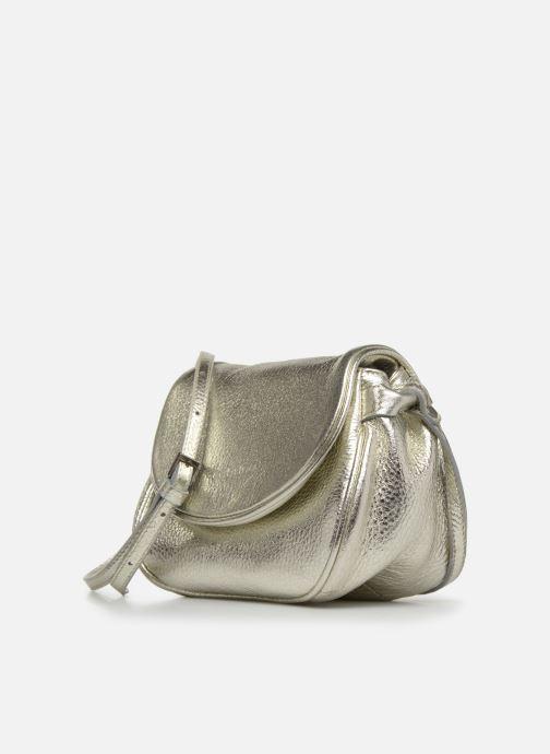 Sacs à main Sabrina Alice Argent vue portées chaussures