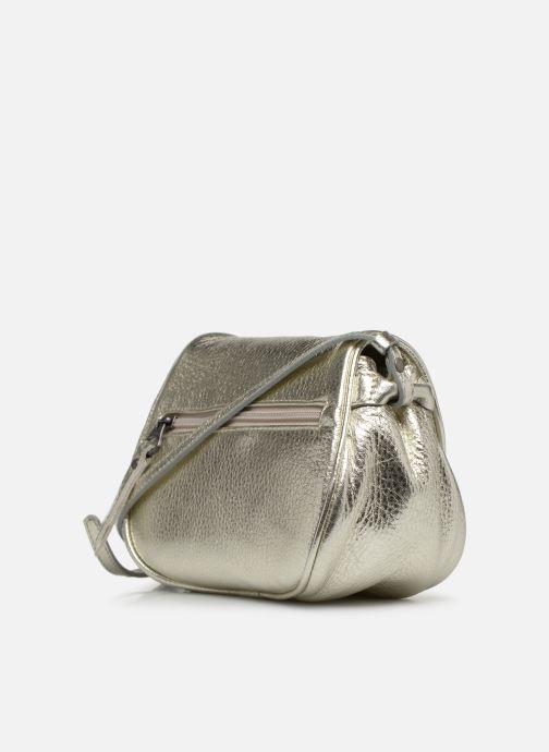 Handtaschen Sabrina Alice silber ansicht von rechts